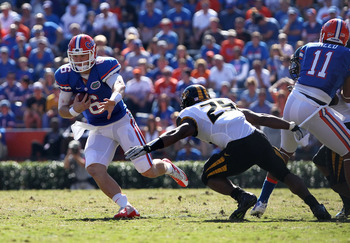 Jeff Driskel struggled in the first half.