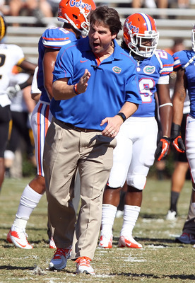 Will Muschamp has led the Gators to a 7-1 record this year.