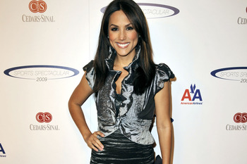 LOS ANGELES, CA - JUNE 07:  Model Leeann Tweeden arrives at the Cedars-Sinai Medical Center's 24th Annual Sports Spectacular at the Century Plaza Hotel on June 7, 2009 in Los Angeles, California.  (Photo by Kevin Winter/Getty Images)