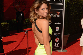 LOS ANGELES, CA - JULY 11:  Anastasia Ashley arrives at the 2012 ESPY Awards at Nokia Theatre L.A. Live on July 11, 2012 in Los Angeles, California.  (Photo by Jason Merritt/Getty Images)