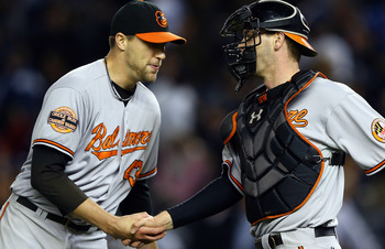 Baltimore Orioles closer Jim Johnson led all of MLB with 51 saves in 2012.