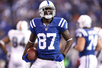 It's been Reggie Wayne and not much else for the Colts on offense.