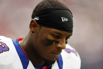 Stevie Johnson was held to three catches for 29 yards