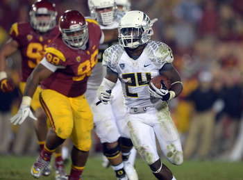 Kenjon Barner may have run himself into the Heisman race.