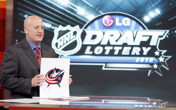 The NHL Draft Lottery is an example of a really dumb move on the part of the NHL