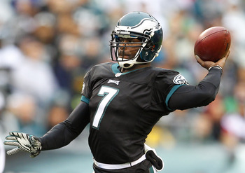 Vick has been a turnover machine during the Eagles' slow start.