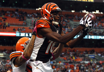 A.J. Green has been arguably the NFL's top wide receiver this season.
