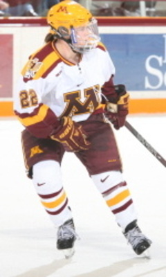 (Photo courtesy of Minnesota Golden Gophers Athleticshttp://www.gophersports.com/sports/w-hockey/spec-rel/102412aab.html)