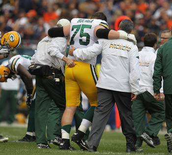Bryan Bulage is one of the many injuries that the Packers have had to deal with this season.