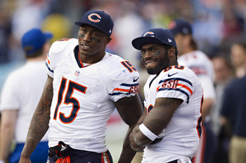 Brandon Marshall and the Chicago Bears are in the driver's seat in the NFC North.