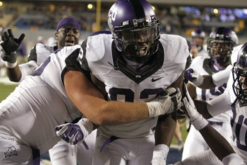 TCU could end up playing the Big 12 giant killer role by season's end.