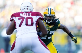 Bobbie Massie and the offensive line kept the Packers in check.