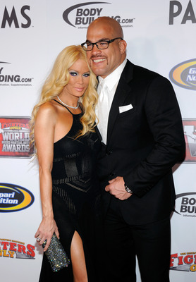 Tito Ortiz and his porn star wife Jenna Jameson Ethan Miller/Getty Images