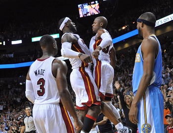 LeBron James helped make Ray Allen's game-winner happen.