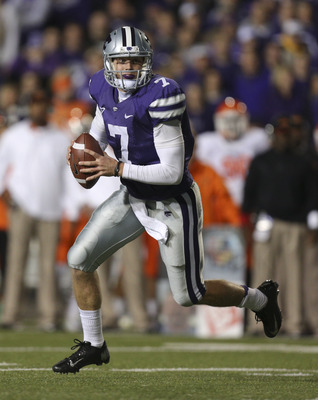 Heisman favorite Collin Klein headlines a balanced Kansas State team.