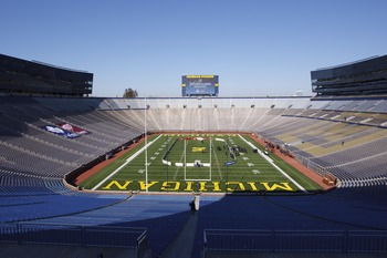 Michigan's football stadium should have hosted the Winter Classic in January 2013.