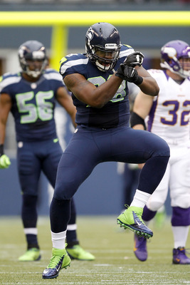 Greg Scruggs doing his Gangnam-style sack dance.
