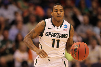 Keith Appling will lead a tough Spartans attack.