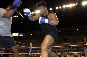 Shields trained David Tua when he was a monster.