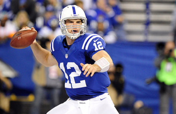 Andrew Luck is now challenging RG3 for OROY.