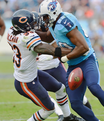 Charles Tillman forced four fumbles on Sunday.