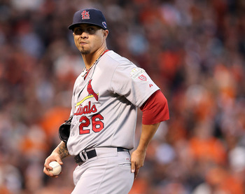 Lohse was lights out for St. Louis in 2012.