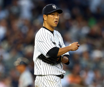 Kuroda looked good in his first season with the Yanks.