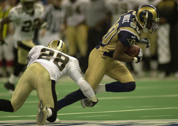 The Rams scored 540 points during the 2000 regular season.