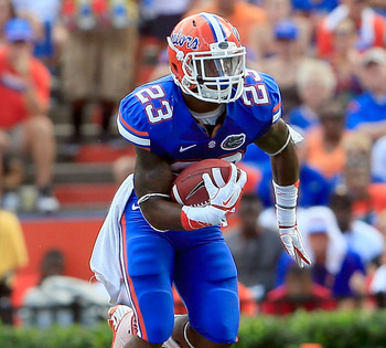 Gillislee has been a bruiser in the Florida backfield.