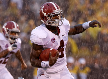 Yeldon has impressed on a national level in 2012.