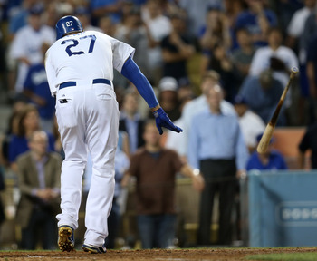 Matt Kemp and the Dodgers offense struggled to score runs behind Kershaw.