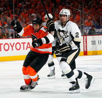 The Penguins were embarrassed by the Flyers in the first round of the 2012 Stanley Cup playoffs.
