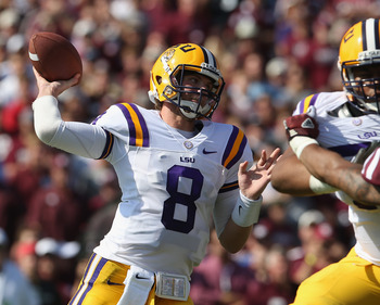 Mettenberger has been good for the Tigers this season but does not pose a threat like Manziel or McCarron