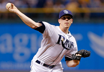 Jeremy Hellickson is the Rays' pitcher drawing the most interest.