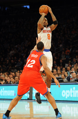 J.R. Smith and Steve Novak have led the Knicks' three-point attack.