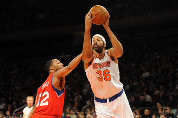 After two years away from the game, Rasheed Wallace has played fairly well in limited minutes.
