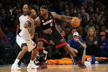After holding the potent Heat to 84 points, the Knicks set a strong tone on defense.