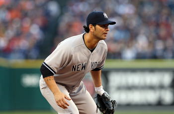Eric Chavez proved very capable for the New York Yankees.