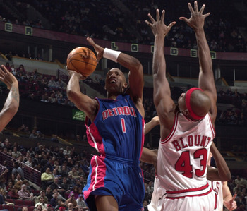 Chauncey Billups was a final piece in Detroit in 2002.