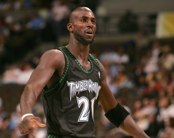 Minnesota drafted Kevin Garnett with the No. 5 pick in 1995.
