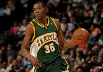The SuperSonics did the Thunder a favor when they took Kevin Durant with the No. 2 pick in 2007.