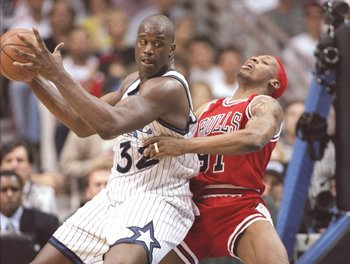 Shaquille O'Neal changed the center position when the Magic drafted him in 1992.