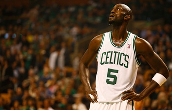 Garnett hasn't played horribly, but not his usual self either.