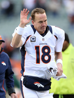 Peyton Manning and the Broncos have looked like the class of the AFC.