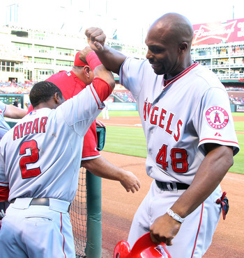 The Red Sox are showing interest in outfielder Torii Hunter.
