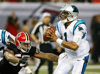 Newton is still learning to read coverages and defenses on the NFL level
