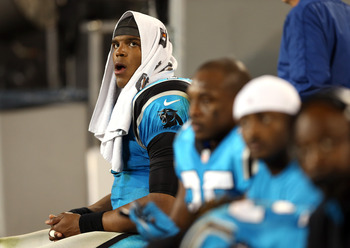 Newton's body language has spoken volumes during his tenure in the NFL