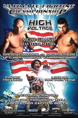 UFC 34 was a major event and introduced Matt Hughes as one of MMA's top fighters.