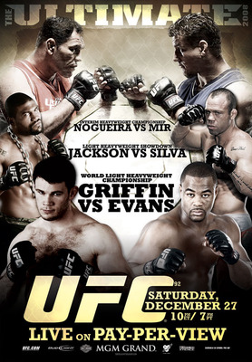 UFC 92 was a night filled with crazy knockouts and hotly anticipated fights.