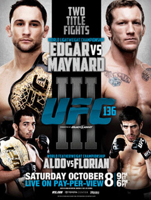 UFC 136 is, perhaps, the best event in modern MMA.